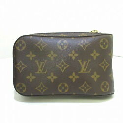 Louis Vuitton Jeronimos Waist Pouch Monogram Canvas Previously Owned No.8961