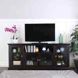 Walker Edison Furniture Company Composite Tv Stand 78-inch Doors 70-inch