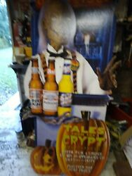Vintage 1995 Tales From The Crypt Budweiser,budlight Andbud Ice Life Size...