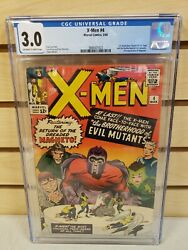 X-men 4 1964 Marvel 1st Appearance Quicksilver Scarlet Witch Cgc 3.0