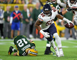 2 Tickets Chicago Bears Vs Green Bay Packers In The United Club