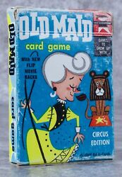 Vintage Old Maid Playing Cards Ed-u-cards 1959
