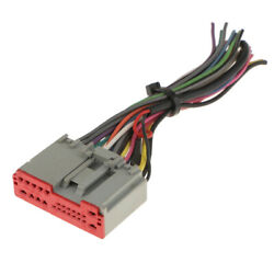 Car Radio Radio Iso Wiring Harness Adapter Connection For / Hyundai / Lincoln