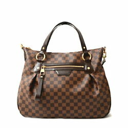 Louis Vuitton Damier Handbag Yvola Mm Women And039s N41131 Previously Owned No.8816