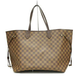 Louis Vuitton Neverfulle Gm N51106 Fl3046 06 Make Coated Canvas Damier No.8899
