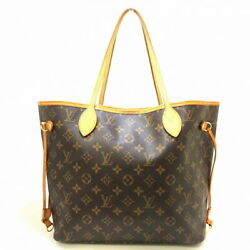 Louis Vuitton Neverfulle Mm Tote Bag Monogram Canvas Previously Owned No.1118