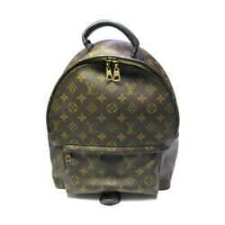 Louis Vuitton Palm Spring Backpack Mm Bag Pvc Coated Canvas No.8911