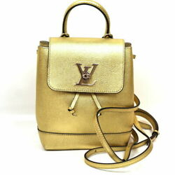 Louis Vuitton Rock Me Backpack M54575 Gold Silver Fittings Day Pack No.8928
