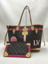 Louis Vuitton Tote Bag Pvc Brw Previously Owned Free Shipping No.2635