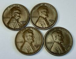 2x 1923 S And 2x 1932 D Lincoln Cent Set - Lot Of 4