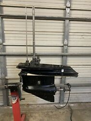 Used 20 Johnson Evinrude Outboard Lower Unit/gearcase Omc 150 175 Hp 60° Engine