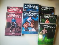 Clinton Anderson Fundamentals Intermediate And Advanced 32 Dvdand039s And Exercise Sheets