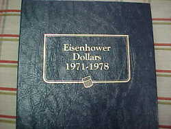 1971 - 1978 Complete Eisenhower Ike Dollar Set D P S S Proofs And Silver 32 Coins