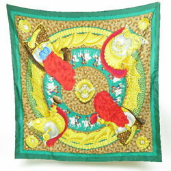 Hermes The Real Thing Carre 90 Soldier Cask Plumet Vintage Scarf Silk No.7118