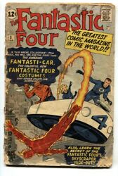 Fantastic Four 3 Silver-age 1962 Marvel Jack Kirby First Costume Issue Fr