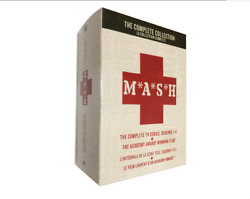 Mashthe Complete Series Collection Seasons 1-11+movie Dvd M.a.s.h Newandsealed