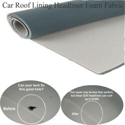 100 Vehicle-upholstery Headliner Replacement Foam Back Restore Drop Sag Stains
