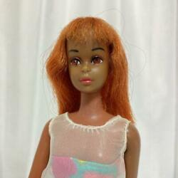 Mattel Barbie Black Francie Doll Vintage 1967 First Issue With Light Brown Eyes