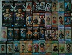 One Piece World Collectable Figure Wano Country Set