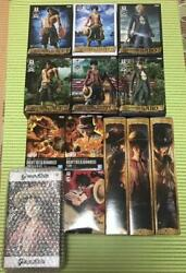 One Piece Luffy Ace Sabo Three Brothers Figure Unopened