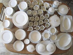 Sale - Crown Victoria Lovelace Oven To Table China - Over 200 Pcs Bulk Discount