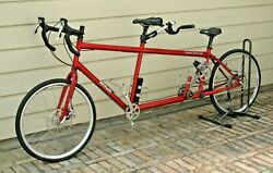 Da Vinci Grand Junction Tandem Road Bike With Youth/child Accessories