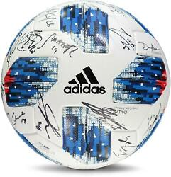 Montreal Impact Signed Mu Soccer Ball From The 2018 Mls Season And 25 Signatures