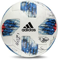 Vancouver Whitecaps Fc Signed Mu Soccer Ball - 2018 Mls Season And 14 Signatures