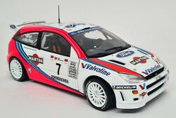Action 1/18 - Ford Focus Wrc 1999 No.7 Rally Portugal Gagnants Mcrae / Grist