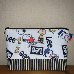 61 Snoopy Pouch With Gusset Handmade