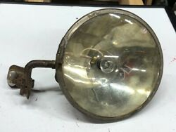 Vintage Searchlight Early Search Spot Lamp Light W Bracket Auto Car Old Mode T
