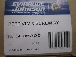 Evinrude Johnson Outboard Omc Inboardstern Drive New Reed Valve Assy 5006208