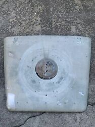 Land Rover Series 2 2a Lhd Hood Bonnet W/ Spare Tire Holder Usable Genuine Nada