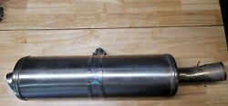 Oem Exhaust For A 2013 Bmw F700gs Motorcycle- Used