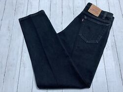 Vintage Usa 90s Red 550 Relaxed Tapered Denim Jeans Mens 34x34 Tag 36x34