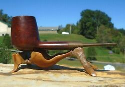 Meerschaum Lined Briar Italy M2 Tobacco Estate Pipe