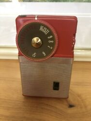 As Is Rare Good Sony's Historical Tr-63 Transistor Radio From Japan