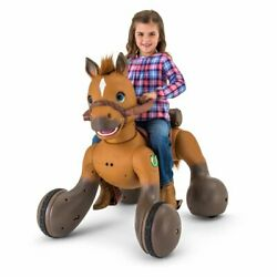 New 12-volt Rideamals Scout Pony Interactive Ride-on Toy