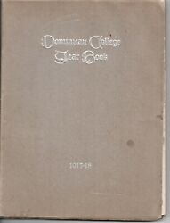 1917-18 Dominican College Yearbook San Rafael Marin County Ca 127 Pages