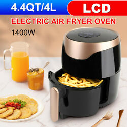 Air Fryer 4.4qt High-capacity Oilless Cooker 4l Oven With Lcd Digital Screen A3
