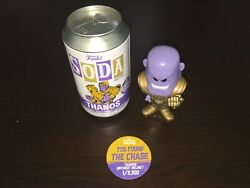 Funko Pop Soda Chase Thanos Without Helmet Le3300 New Marvel 20k Pieces