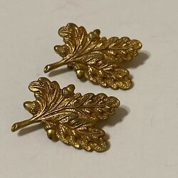 Vintage Wwii Vanguard Usn Supply Officer Insignia Pins