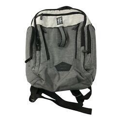 Hello Bello 9 Pockets Backpack Diaper Bag Gray Changing Pad Unisex $14.99