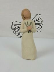 Vintage Willow Tree Figurine Angel Of Remembrance Susan Lordi 2001 No Box
