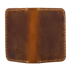 Lone Deer Leather Genuine Leather Personalized Handmade .wallet