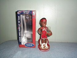 Lebron James Rookie Of The Year Bobblehead Mint In Mint Box