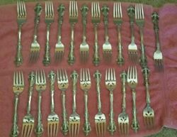 Oneida Brahms 80 Pc Flatware Set For 12 Stainless + Serving Pcs