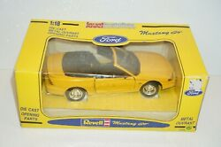 Ford Mustang 1994 Gt Convertible Revell Die-cast 118 Jouef Open Box