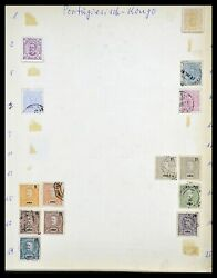 Lot 34305 Stamp Collection Portugese Colonies 1870-1970.