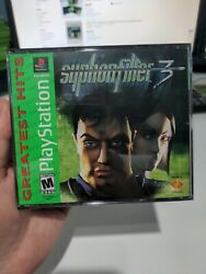 Syphon Filter 3 Complete Sony Playstation 1 2001